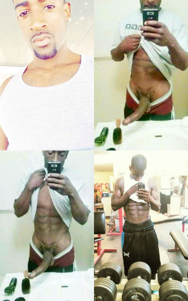 Private Self Pics from hot Black Guys and Self Shots by GayBF.com