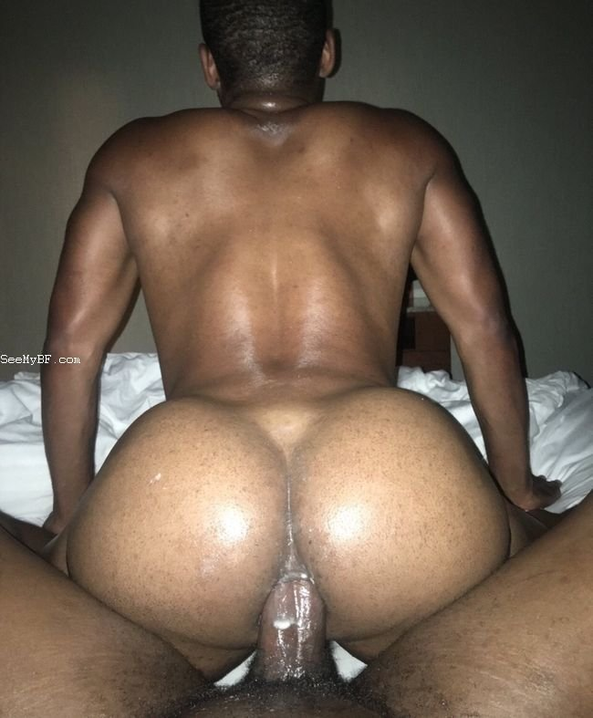 Hardcore gay black guy gets down for ass fucking