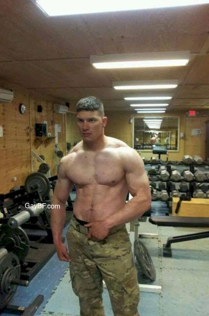 Military amateur bareback