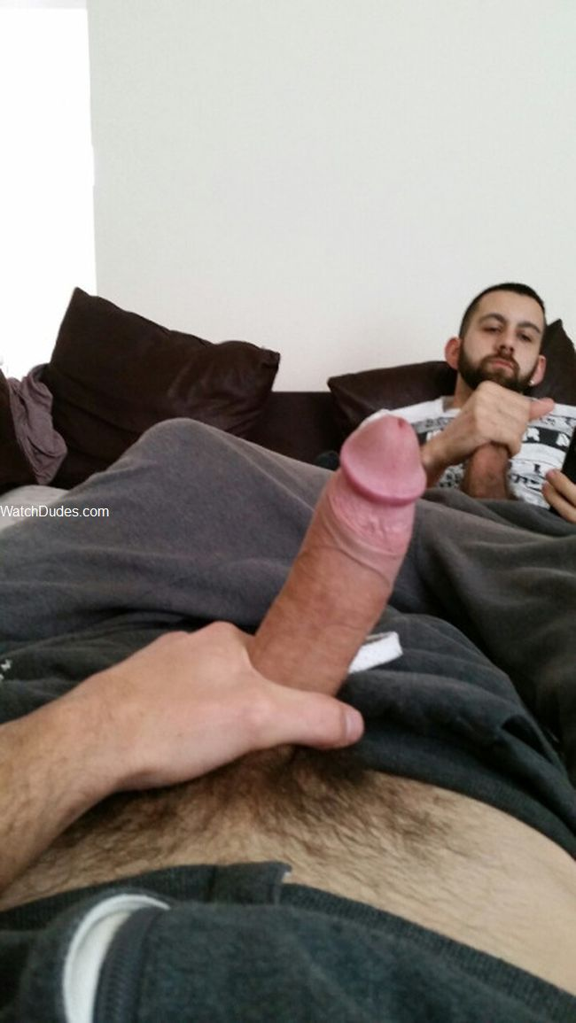 Jerking Off My Step Brother