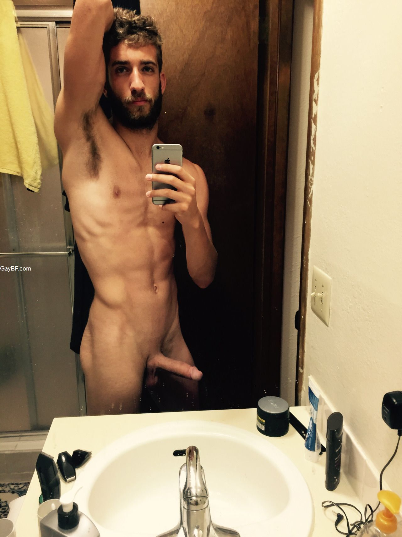 Straight Guys Naked Selfies  Gay Bf - Free Real Amateur -6866